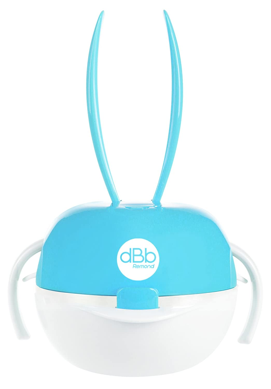 dBb Remond Set de Repas Voyage Turquoise Motif Lapin