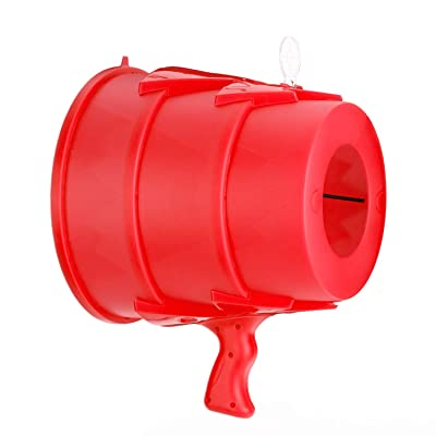 Airzooka Air Blaster- Blows 'Em Away - Air Toy for Adults and Children Ages 6 and Older -Red: Toys & Games