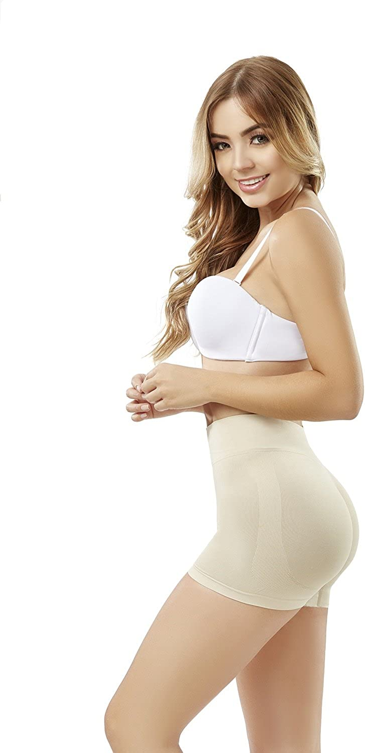 Thermal Slimmer Shapewear for Women Nude ShapEager Faja Colombiana Reductora Short