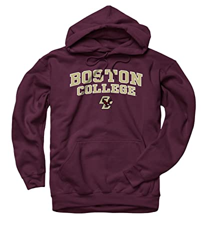 853e9a787 Campus Colors Boston College Eagles Adult Arch   Logo Gameday Hooded  Sweatshirt - Maroon