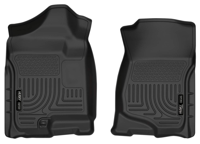 Husky Liners 18201 WeatherBeater Black Front Floor Liner