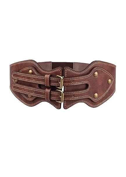 prezzo più basso consegna gratuita prezzo ridotto Cintura donna elasticizzata retrò da donna casual elastica Cintura ...