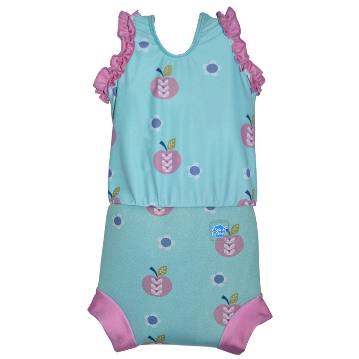 Splash About - Costume da bambina con inserto assorbente tipo pannolino CHN256482