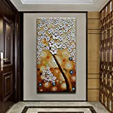 Asdam Art - Orange Tree Oil Paintings On Canvas 3D