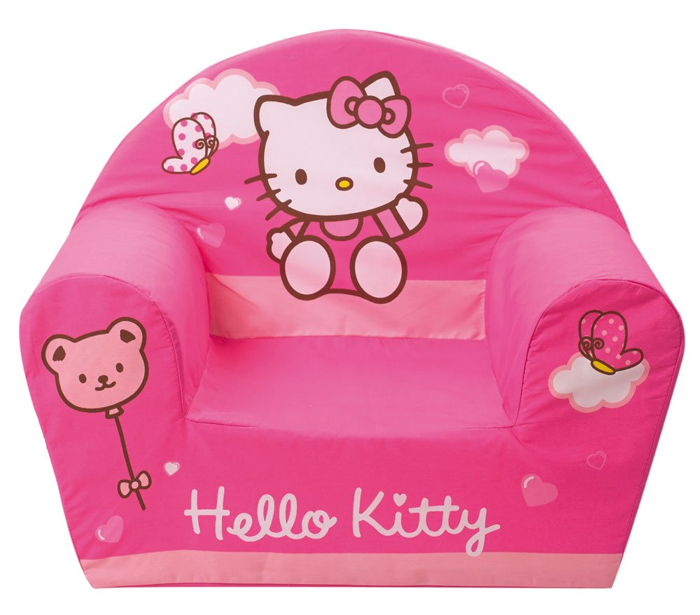 Fun House 711825 – Furniture and Decoration – Hello Kitty Children's Foam Armchair Club