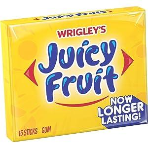 Wrigley's, Juicy Fruit Gum, 15-ct