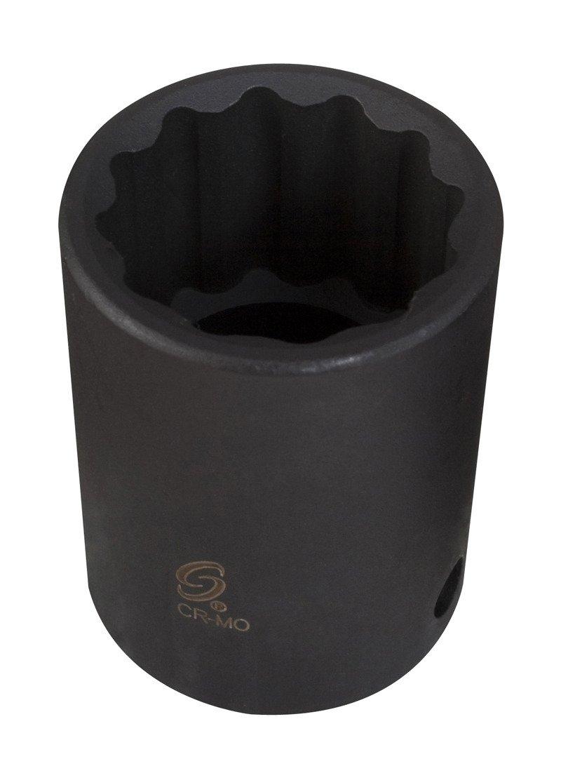 Sunex 452zt 3//4-Inch Drive 1-5//8-Inch 12-Point Thin Wall Impact Socket Sunex International