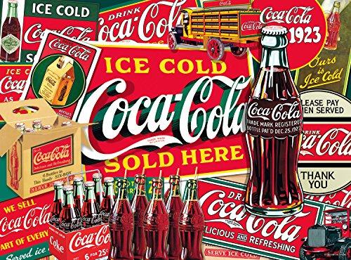 coca cola puzzle 1000 pieces - 1