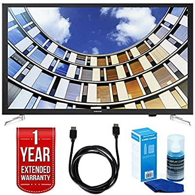 """Samsung UN32M5300AFXZA 32"""" LED 1080p Smart HD TV Bundle with TV, Universal Screen Cleaner, 6ft High Speed HDMI Cable, and 1 Year Extended Warranty"""