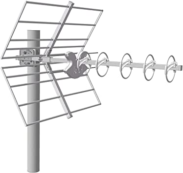 FRACARRO - Antena UHF Yagi LTE 5G. 14dB. C48. D/A 38dB. Color ...
