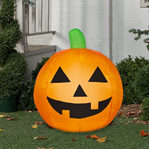 Airblown Inflatable Traditional Jack-O-Lantern by Gemmy Industries