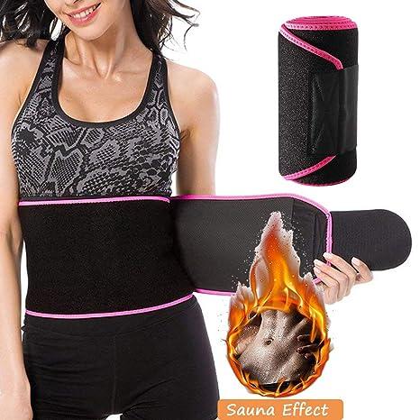 Men/&Women Waist Trainer Sweat Belt Back Support Fat Burner Shapewear Cinchers