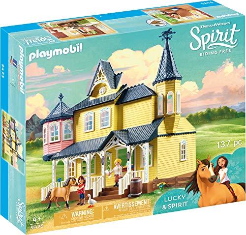 Spirit Of Halloween Website (PLAYMOBIL Spirit Riding Free Lucky's House Playset,)