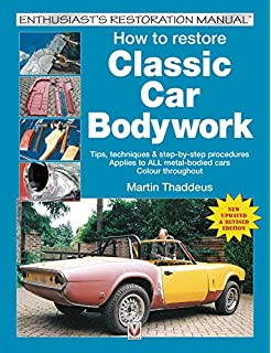The car bodywork repair manual a do it yourself guide to car how to restore classic car bodywork new updated revised edition enthusiasts restoration manual solutioingenieria Choice Image