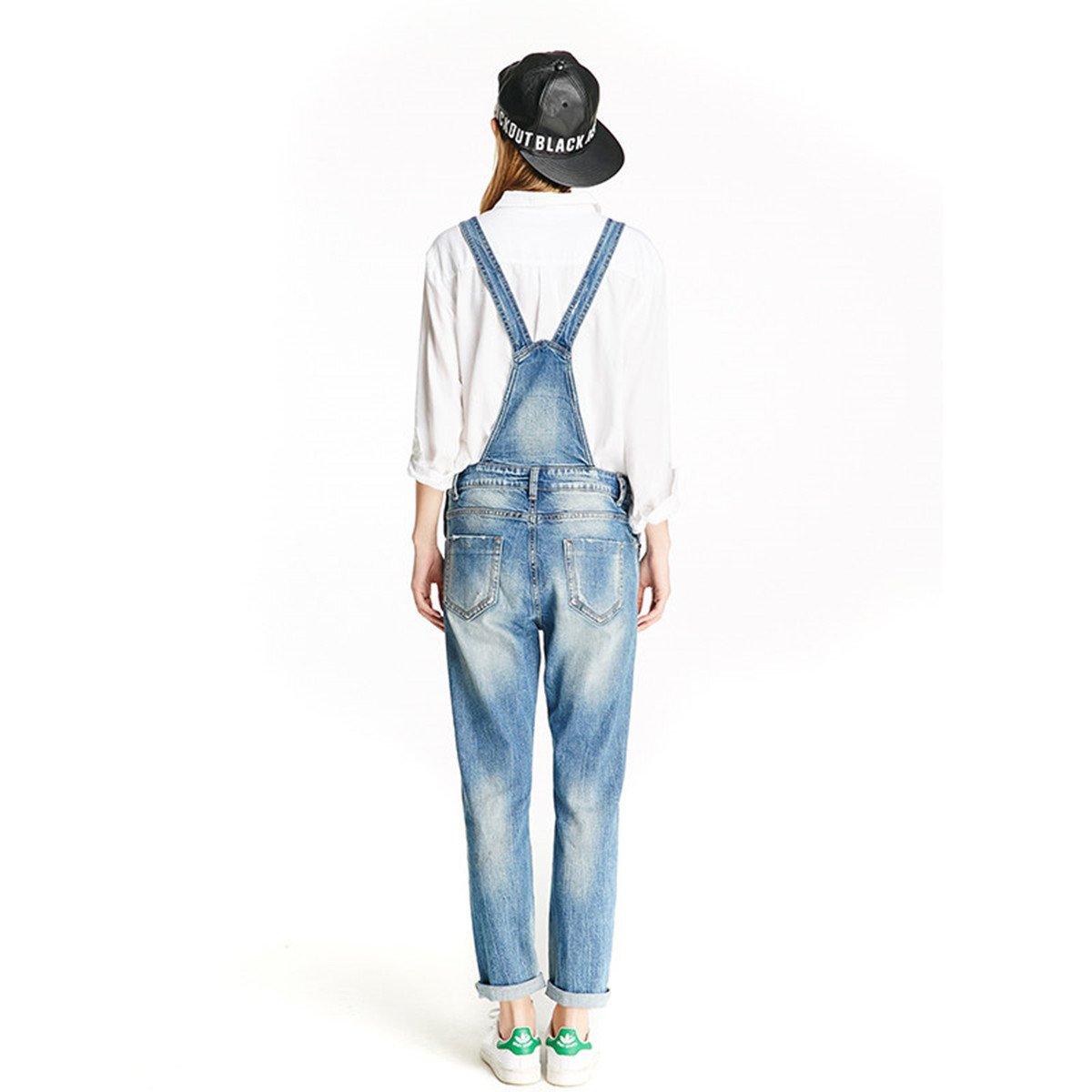 36ec395c70de Women Clothing Blue Jeans Denim Overalls - Denim Fit