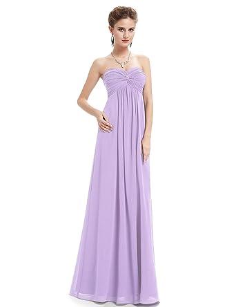 Ever Pretty Womens Semi Formal Wedding Guest Dress 14 Us Light