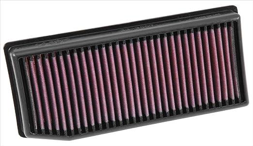 K&N 33-3007 Filtro de Aire Coche, Lavable y Reutilizable: Amazon.es: Coche y moto