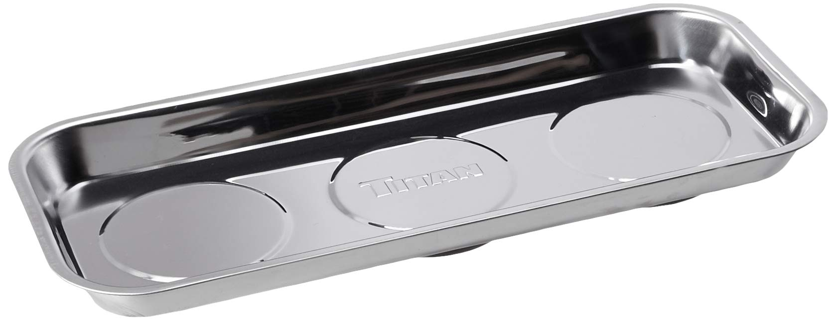 Titan Tools 21263 Rectangular Magnetic Parts Tray (6.5'' x 14'')