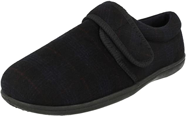 clarks mens velcro slippers off 60