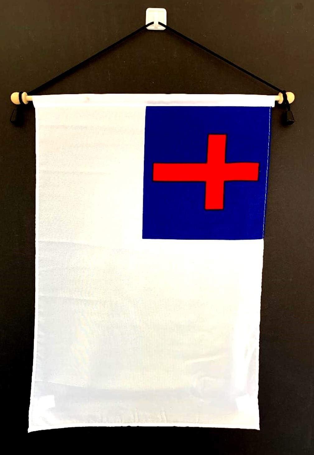 """12/"""" x 18/""""Lebanon Lebanese Flag 12x18 House Banner Grommets Super Polyester21"""