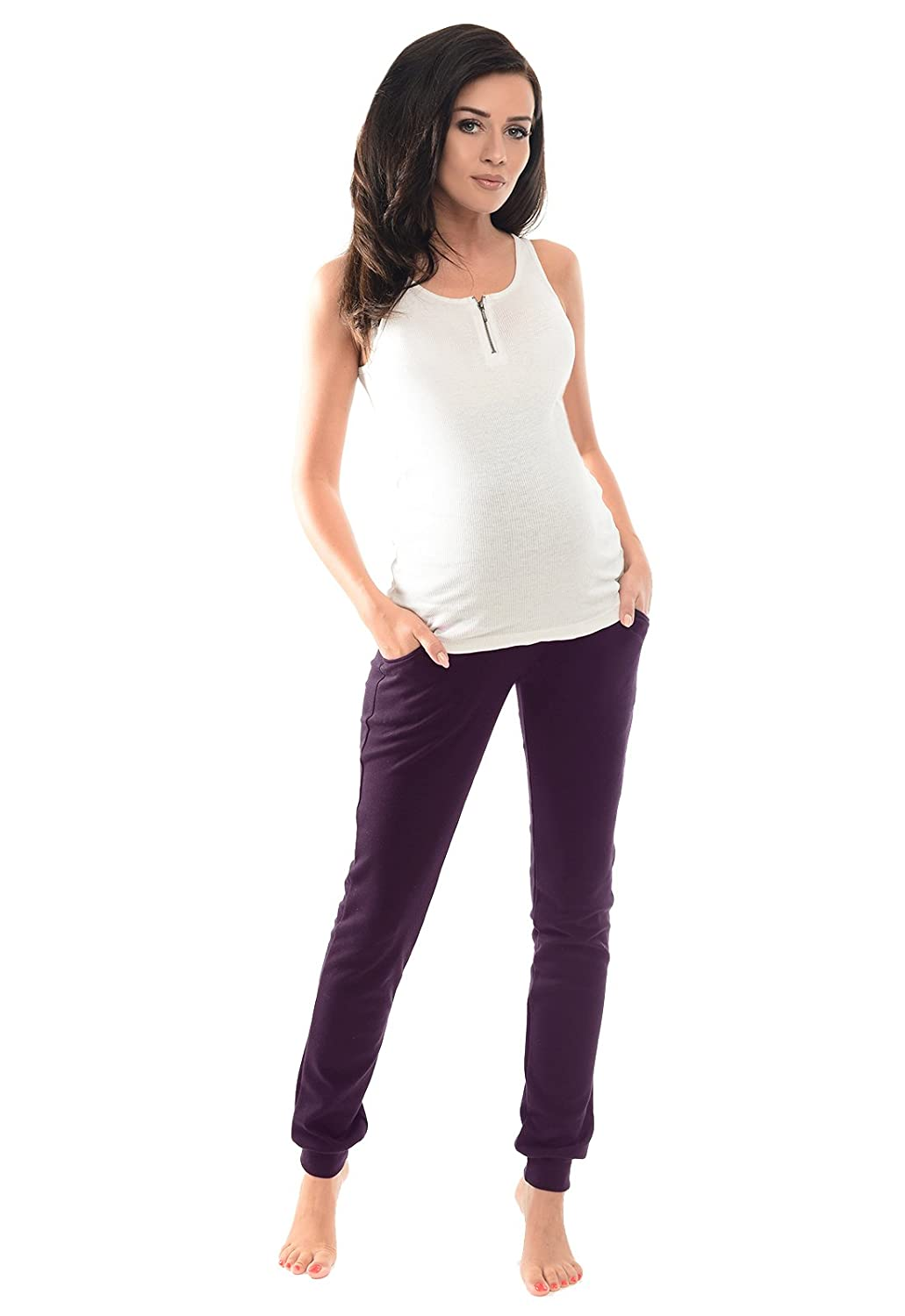 Purpless Maternity Over Bump Joggers Pregnancy Trousers Pants 1307