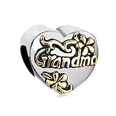 ciondolo pandora per la nonna