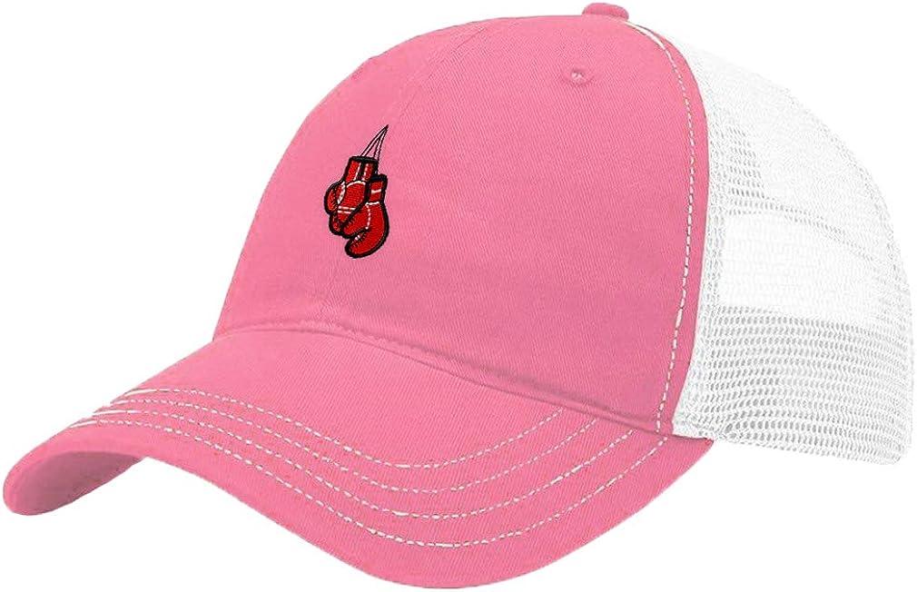 Custom Trucker Hat Richardson Sport Boxing Combat Gloves Embroidery Team Cotton