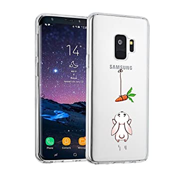 Amazon.com: AIsoar Galaxy S9 Plus Case Clear,Clear Crysta ...