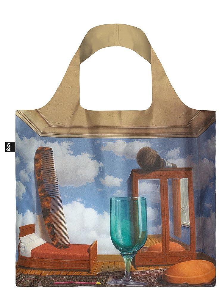 REN... MAGRITTE, Personal Values. Bag: LOQI BAG: Ich wiege 55 g. Ich kann 20 kg tragen. Ich bin wasserabweisend und waschbar. OEKO-TEX zertifiziert und aus Polyester. LOQI GmbH RM.PV Innenarchitektur / Design Non Books