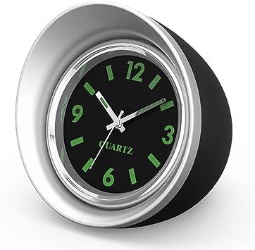 1.6 Diameter ONEVER Car Clock Mini Vehicle Dashboard Clock