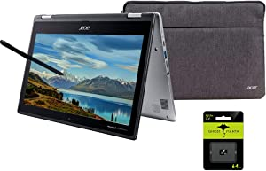 Newest Acer Chromebook Spin 2-in-1 Convertible Laptop Student Business, 11.6