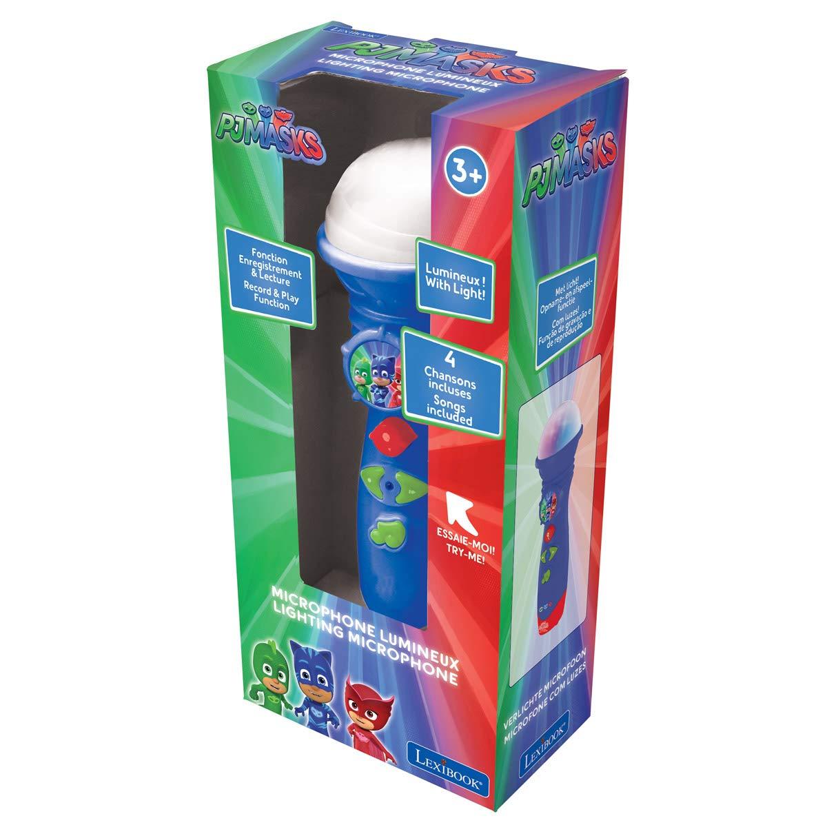 PJ Masks Lexibook Catboy Lightning Microphone, Light Effects, Record and Play, Blue, MIC50PJM by PJ Masks (Image #6)
