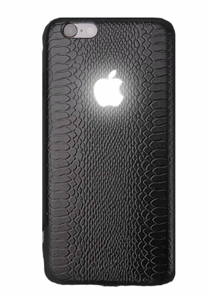 Yacn iPhone X Cases led Logo Light, iPhone case Glowing Light Up Logo Case Illuminate Cover
