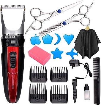 Cortapelos para hombres, afeitadora de carga de corte de pelo ...