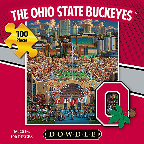 Jigsaw Puzzle - The Ohio State University Buckeyes-OSU-100 Pc By Dowdle Folk Art