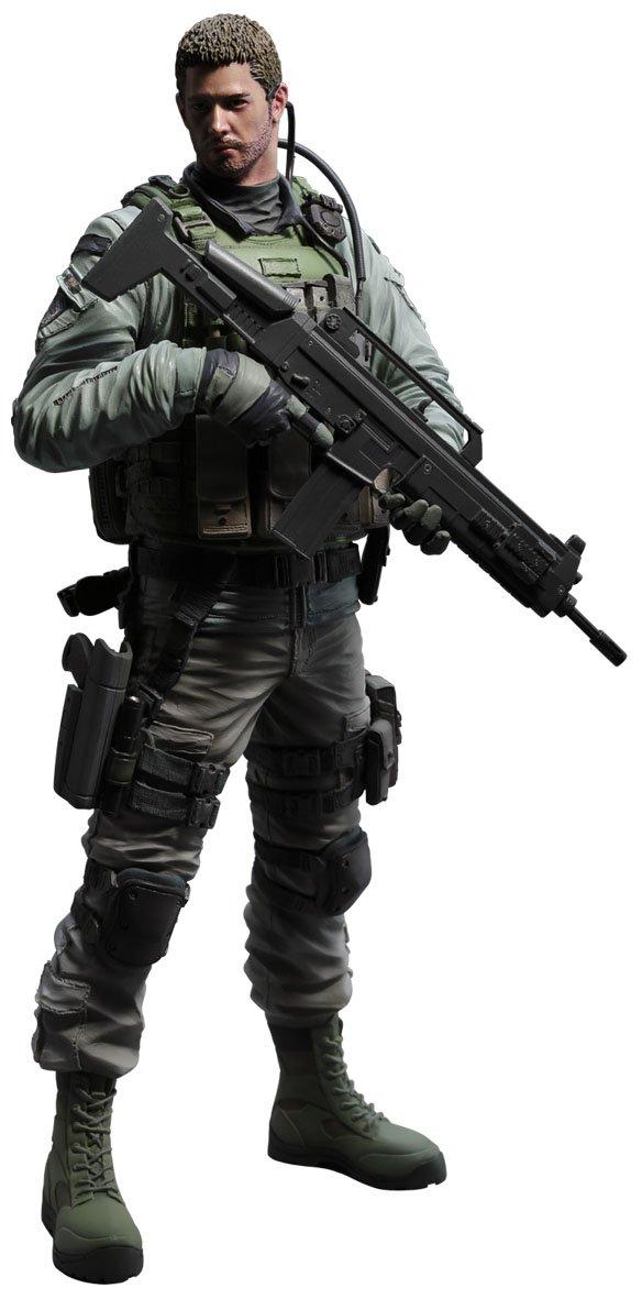 Capcom Builder Chris Redfield Action Figure