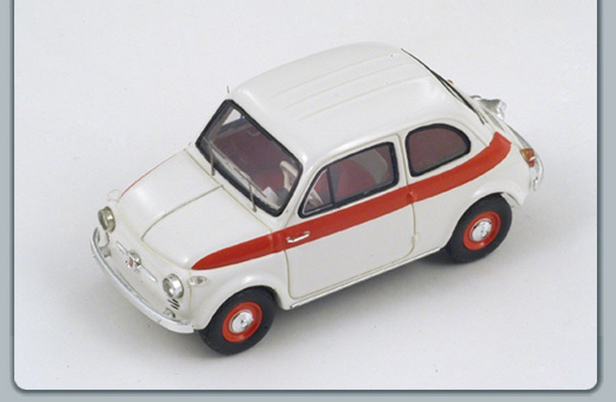 NEWES Spark Model S2691 FIAT 500 Sport 1958 Weiß 1:43 MODELLINO DIE CAST Model