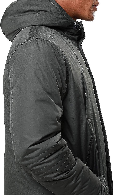 Threadbare Mens Winter Puffer Jacket Padded Hooded Zip up Coat