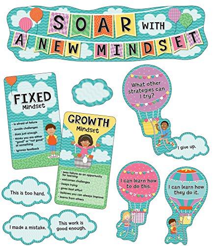 (Soar With a New Mindset Mini Bulletin Board Set)