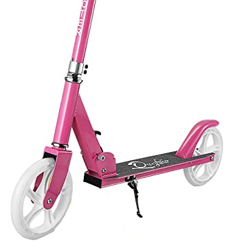 Amazon.com : Adolescent Children Scooter Two-Wheeled Childrens Single-Legged Second Wheel 10 Fold 7 Scooter 3-6-15 Year-Old 8 Child 12 : Baby