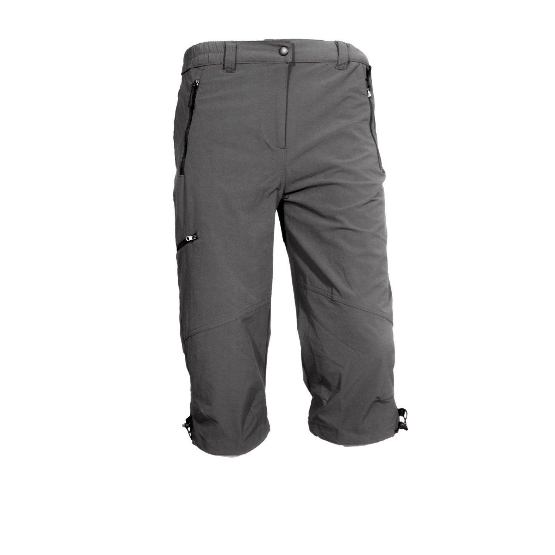 Hot Sportswear Mendoza Graphite 3/4 Bermuda Stretch Herren grau