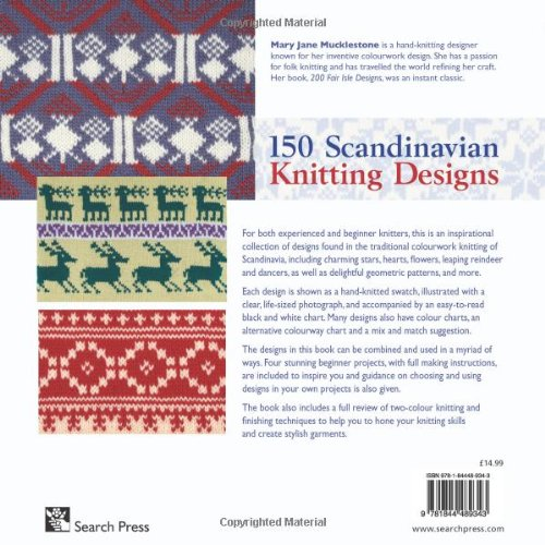 150 Scandinavian Knitting Designs: Authentic Designs with Actual ...