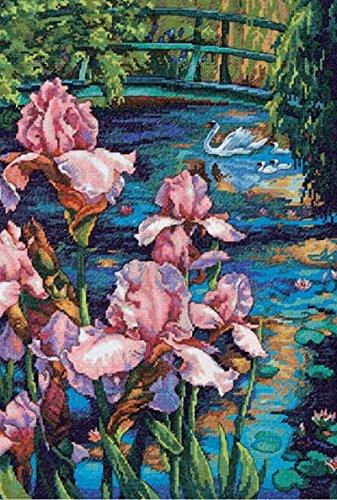 Iris Cross Stitch Pattern - 6