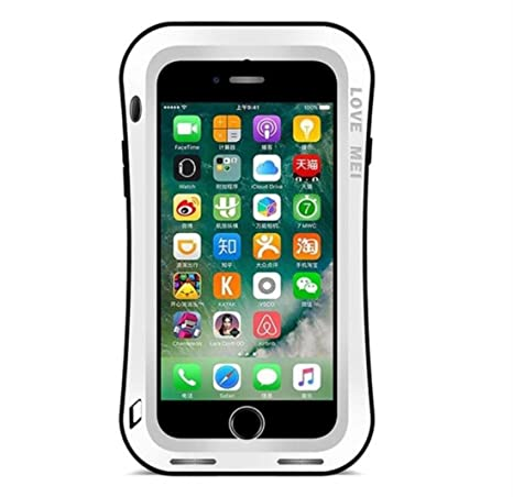 wholesale dealer 4f707 6f4b2 Amazon.com: iPhone 6/iPhone 6S Water Resistant Warrior Metal Case, X ...