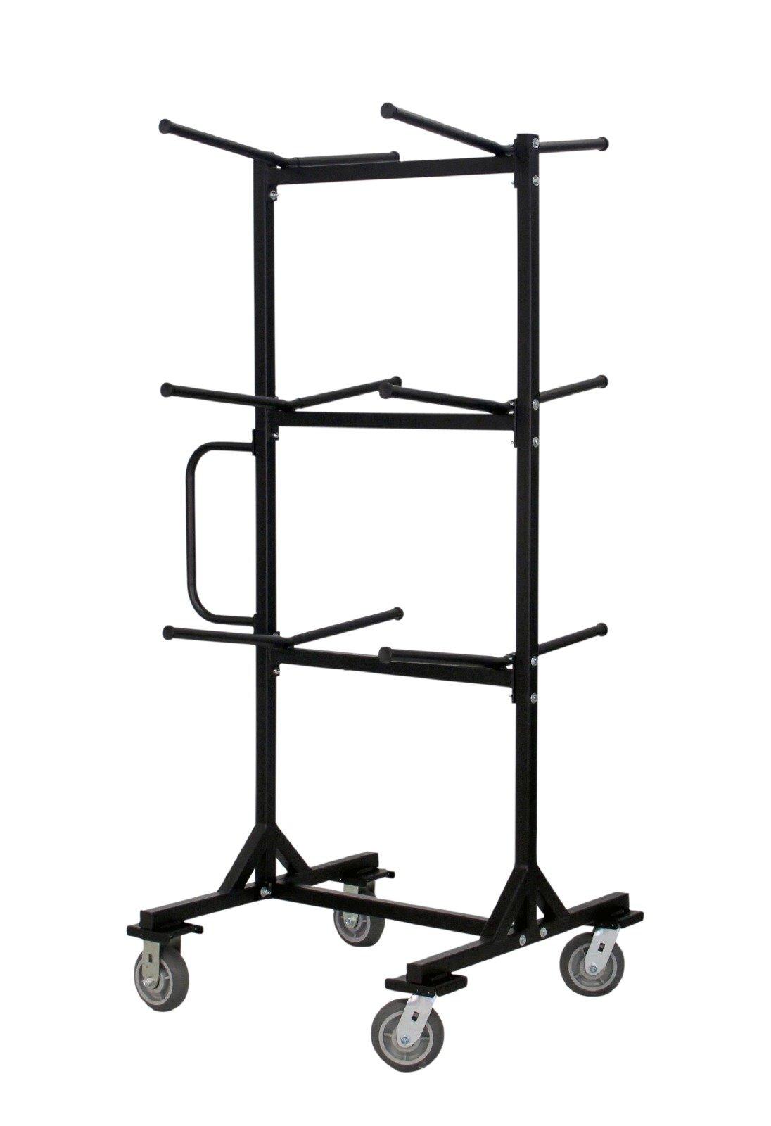 MityLite Half Tree Cart, Folding Chairs, Black