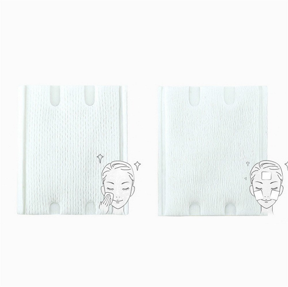 Vinmax 100% Organic Cotton Pads Makeup Remover Wipes Face Wash Cotton Pads for Sensitive Skin 200Pcs