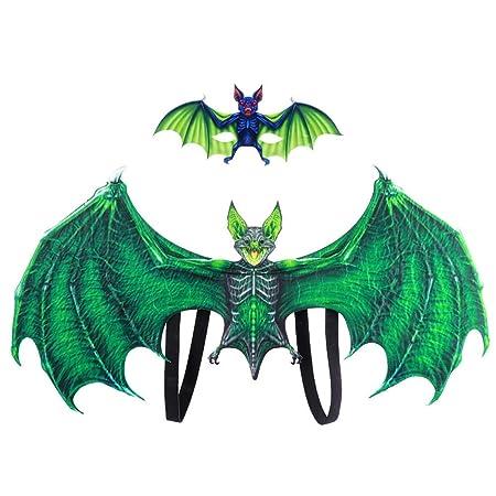 Yalatan Conjuntos de máscara de dragón para Halloween, disfraz de ...