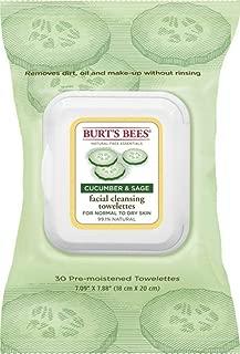product image for Burts Facial Twlette Cuke Size 30ct Burts Cleasing Towel Facial Cuke/Sage 30ct