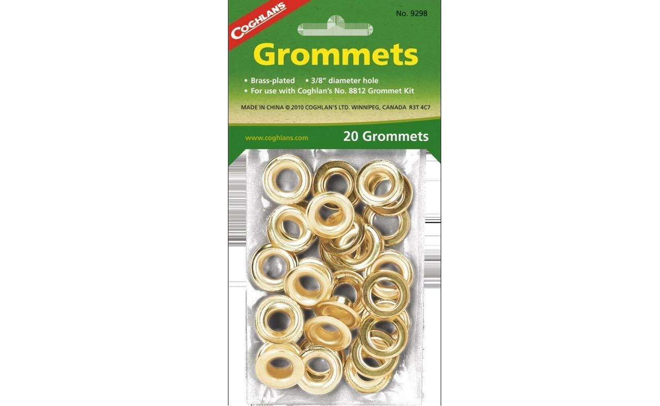 K&B ADVANCED Grommets - 20ea 3/8'' Grommets #9298
