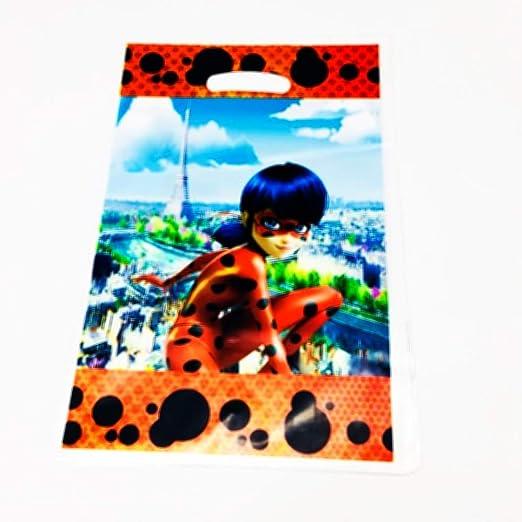 Uniqus 10pcs Miraculous Ladybug Plástico Bolsas de Bota ...